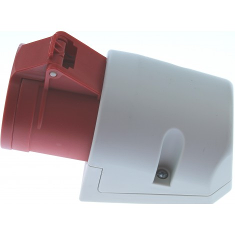 Cee Wcd Rood 32Amp 5-Polig 3P+N+A Opbouw D52.30 D52S31