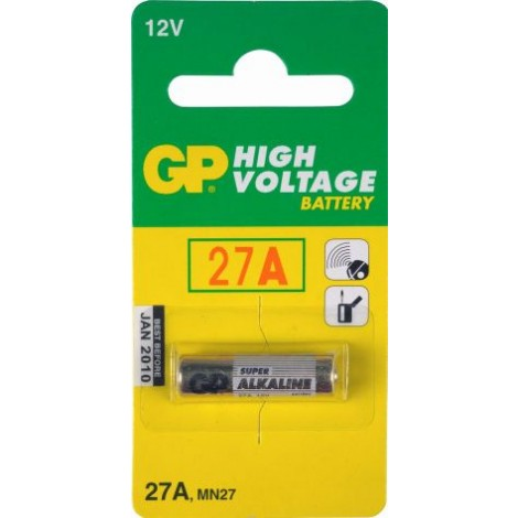 G.P Rondcell Gp27A 12V Mn27 Px27 27A 7.7X28.0Mm