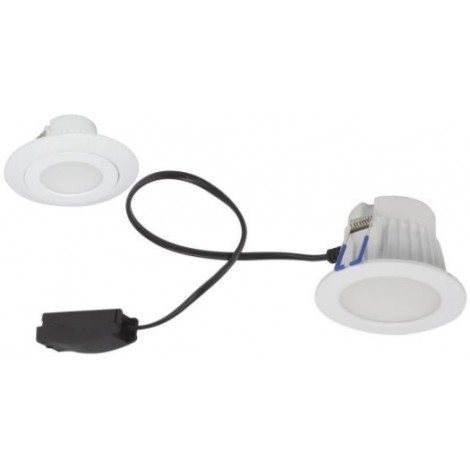 Robus LED Inbouwspot Taylor 7W 600-650lm 3000 4 65K dimb IP44 72/90mm