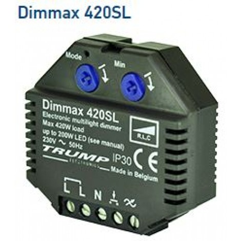 Dimmax 420SL LED Dimmer Module LEDdimmer 200w LED Trump 46*18*46mm