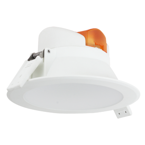 Aigostar LED Inbouw Spot DownLighter Wave 10w Incl. driver IP44 3000K 800lm 90graden niet dimbaar gatmaat 95mm