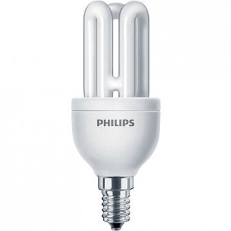 Philips Spaarlamp Genie 8W Ww 827 E14 220-240V 112X44.5Mm
