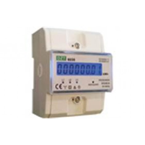 Kwh Meter 3-Fase Digitaal Drm 370A 100A 230/400V 400Imp/Kwh-B 4Te KWH1046