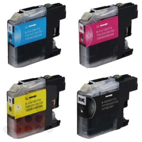 Inksave multipack Brother LC125XL & 127XL