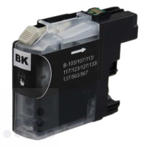 Inksave Brother LC 123-BK