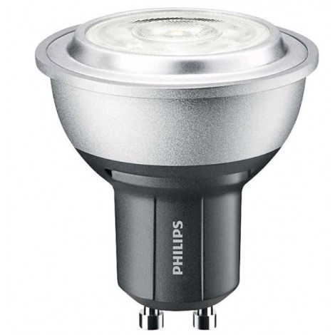 Philips Masterled Ledspot 51Mm 230V 4-35W 2700K 40D Gu10 Mr16 69704600 Dimbaar