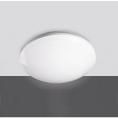 Prolumia Prodisc LED plafoniere Opbouw Rond 348x100mm 18W 3000K IP44 opaal