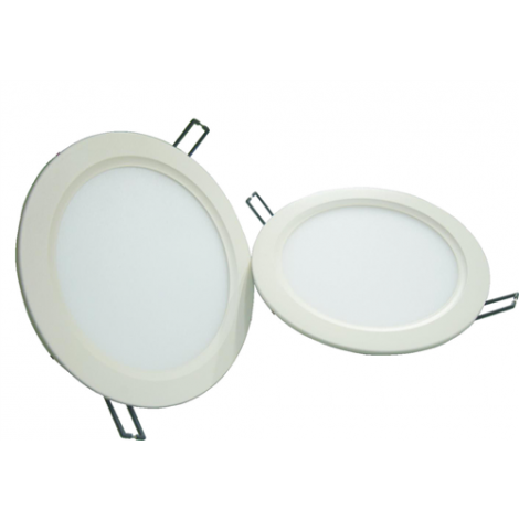 Led Bmc Downlight 8W 480Lm 3000K Gatmaat 120mm afm.32x138mm Incl Driver Wit niet dimbaar