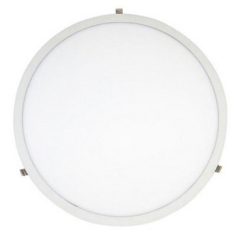 Greenline Budget Led Paneel Rond 60Cm met Witte Rand 36W 3000K 3500Lm