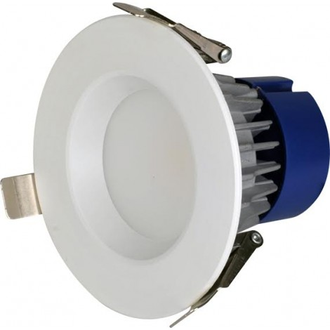 Bmc Led Downlight 10W 3000K 750Lm 12Cm Gatmaat 100mm  Incl. driver Wit Dimbaar