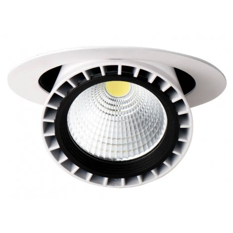 Bmc Led Downlight 30W 3000K 30graden Gatmaat 180x148x196mm Incl Driver