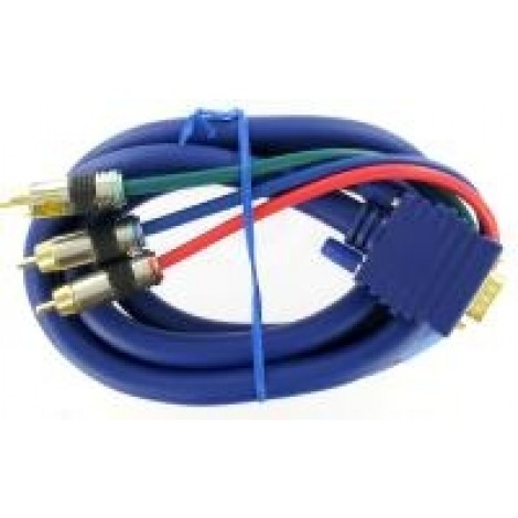 H5521 Laptop High - end VGA 15pol steker > 3x cinch steker RGB 1.50 mtr