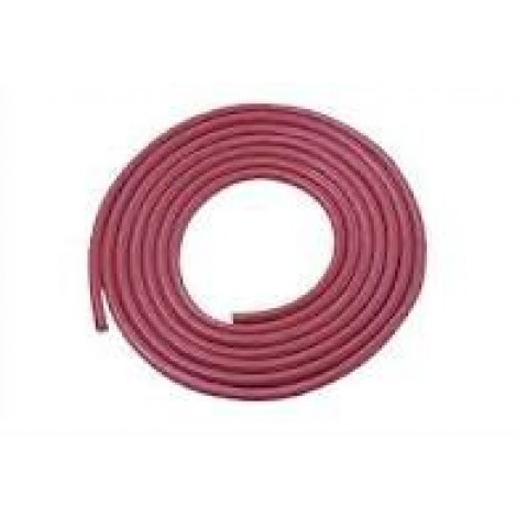 Siliconen Hittebestendig 1x0.75mm2 Rood Ring 100meter