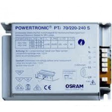 Osram Evsa Derby Box Powertronic Pti70S 70W Cdm Met Metalen Behuizing