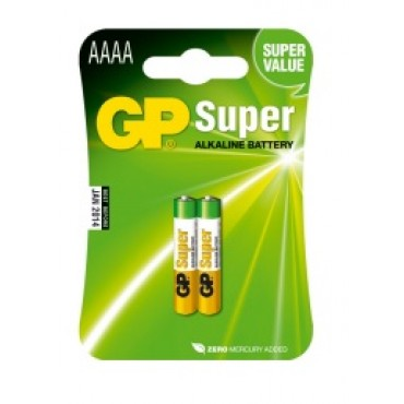 G.P Rondcell Gp25A 1.5V Aaaa Lr61 Bls2 8.3*42.5Mm