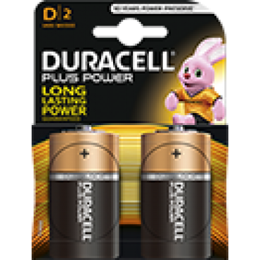 Duracell Batterij Alkaline Plus Power Duralock MN1300/LR20/D Monocel Bls2