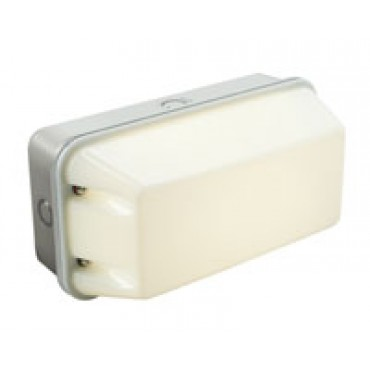 Robus Portiekverlichting Led 6W Bulkhead 4000K 700Lm Wit R6Wbhled-01Ip65
