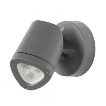 Robus Apex LED Wand en Spies 4.5Watt IP54 4000K Antrac RAX4540-25