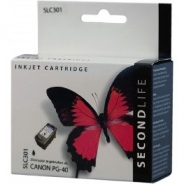 Secondlife Cartridge Canon SLC301 PG 40 Black 25ml 11011031