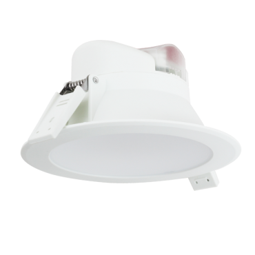 Aigostar LED Inbouw Spot DownLighter Wave 10w Incl. driver IP44 4000K 850lm 90graden niet dimbaar gatmaat 95mm