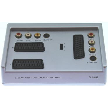 6146-Video Selector 2X Scart-In Bls1