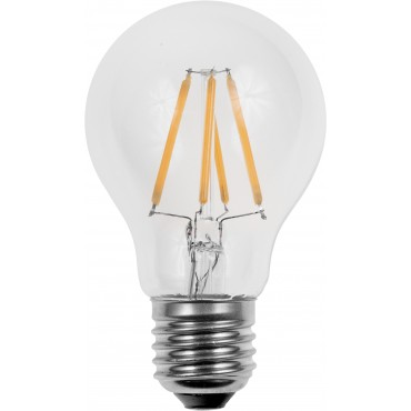 Spl Led Filamentled L023870302 Standaardlamp E27 310Lm 4W 2500K Tronic-Dim Clear Led on Glass