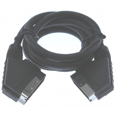 Scart Kabel 1.50Mtr Male > Male 9.4Mm Basicline