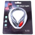 Zaklamp Led rood BK4080 bike shoelight Incl Batterij workout