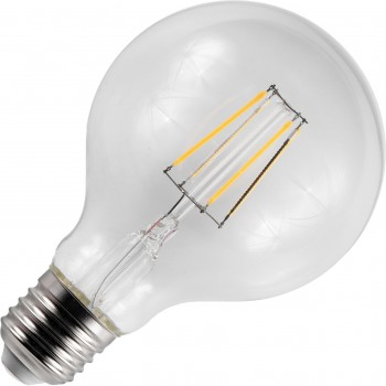 SPL Led Metaal Filament L278032027 Globe 80mm 4.5W E27 2700K 450L He
