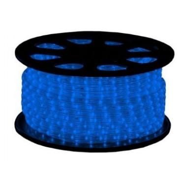 Tronix Lichtslang Led 240V Crystal Clear Blauw 51M Ip44 13Mm Incl.St