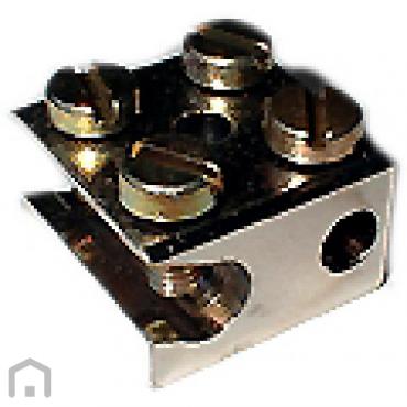 Aardklem radiatorklem 1x6 + 1x25mm open schuin JMV 200043