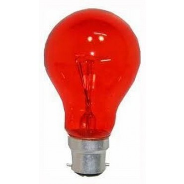Orbitec Schijnvuurlamp Standaardlamp 60W B22 Rood 60Mm