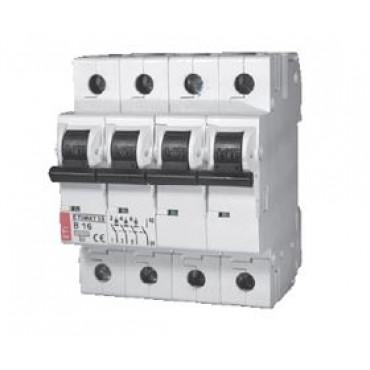 Eti Etimat10 Installatie Automaat 20A C-Kar 3-Fase+N 4-P 230/400V 002136717