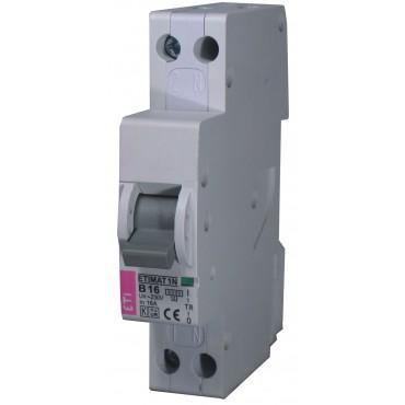 Eti Etimat 1N Installatie Automaat 16A C-Kar 1-Fase+N 002191124