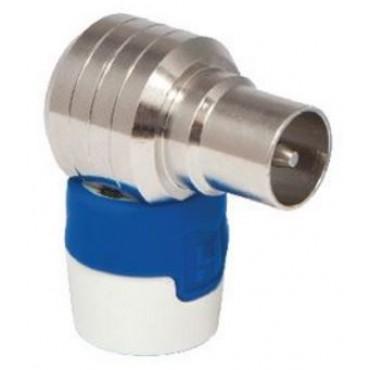 Hirschmann Koswi5 Coax Plug Haaks Male Connector 4G/Lte Proof