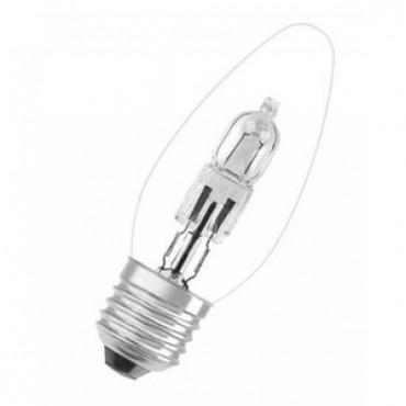 Osram Halogeenlamp Eco Kaarslamp ClassicB 46W E27 Helder 64543B