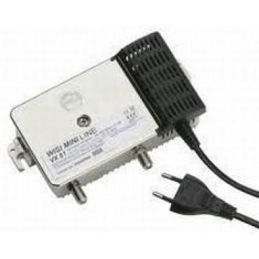 Wisi Vx84A-0650 Coax Versterker Vervanger Vx81