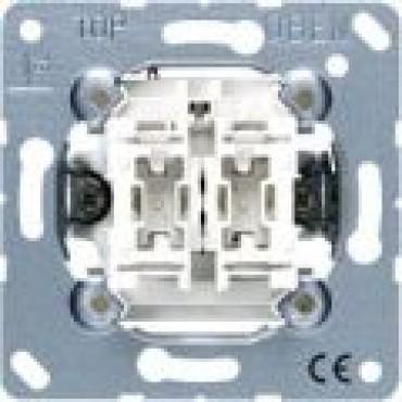 Jung Basiselement Inbouw Schakelaar 2xWisselcontact 509EU