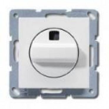 Jung Basiselement Inbouw Ventilator Schakelaar 1-Polig A1504.10NWW Echt Wit