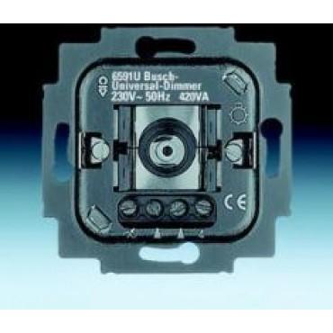 ABB Busch-Jaeger Inbouw Dimmer 6591U-101-500 60-420W Draai/Drukknop Universeel 6513-0-0588
