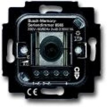 ABB Busch-Jaeger Inbouw Dimmer 6565U Memory Serie 2X315Va Draai/Drukknop Gloei en Electronische Trafo 6565-0-0056