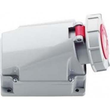 Cee Wcd Rood 63Amp 5-Polig 3P+N+A Opbouw D53S36