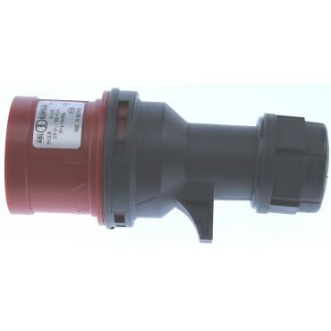 Cee Stekker Rood 16Amp 4-Polig 3P+N S41.30