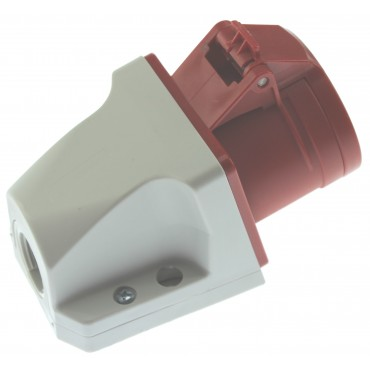 Cee Wcd Rood 16Amp 5-Polig 3P+N+A Opbouw D51.30 D51S31