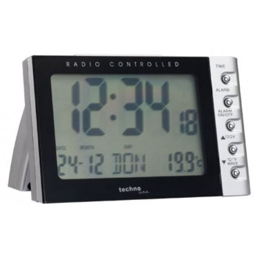Techno-Line Klok Wt188 Radiogest Met Alarm En Snooze binnentemp 2XAA