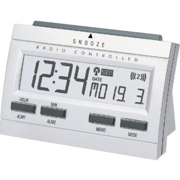 Techno-Line Klok Wt87 Radiogest. Met Alarm En Snooze binnentemp 2xAA
