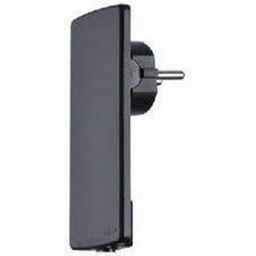 Evoline Plug Ra Stekker Zwart Flat 151000000100