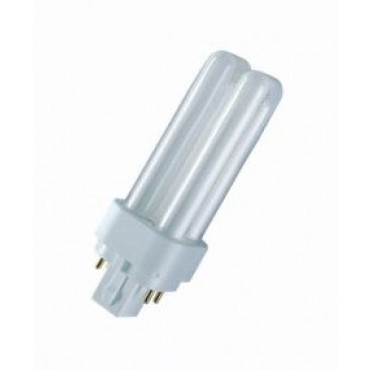 Osram Compact Fluor DuluxDE 18W 827 2700K 4-Pins G24Q-2