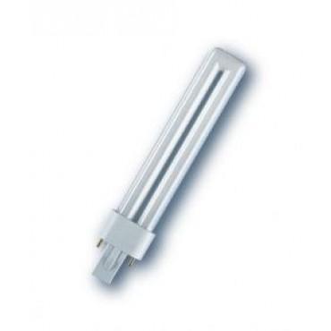 Osram Compact Fluor DuluxS 9W Rood Kleur 60 2-Pins G23
