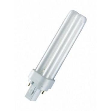 Osram Compact Fluor DuluxD 10W 830 3000K 2-Pins G24D-1